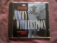 JIMMY WITHERSPOON-BLOWIN' IN FROM KANSAS CITY 1991 BLUES CD