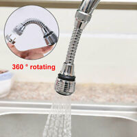 KE_ Stainless Rotatable Bathroom Kitchen Save Water Tap Filter Faucet Extender