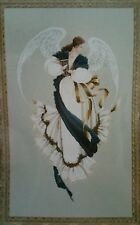 Lavender & Lace Angel of Hope Cross Stitch Pattern L & L 13 1991 167x283