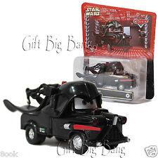 2PCS Disney Pixar Cars Star Wars Mater as Darth Vader Metal Toy Car New in Box