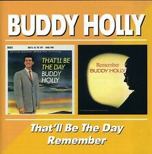 That'll Be The Day/Remember - Buddy Holly (2002, CD NIEUW)