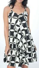 Plus Size Viscose Geometric Dresses for Women
