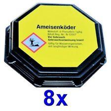 8 Professionelle Dosen Ameisen-Köder Ameisenmittel Ameisenköder (Haus+Terrasse)