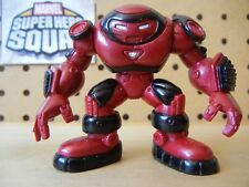 Marvel Super Hero Squad HULKBUSTER IRON MAN Red Black from Wave 3 Armory Vault