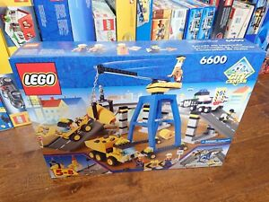 Lego Classic Town Set 6600 Highway Construction New Complete Sealed!
