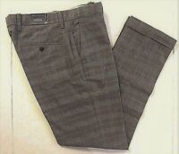 Tommy Hilfiger Abrams plaid custom fit casual pants size 32x30