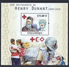 Mozambique Bloc N° 330** (MNH) 2010 - Croix Rouge (Henry Dunant)