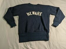 Newark Bears Men's Ebbetsfield Flannels Sweatshirt HD3 Navy Small NWT