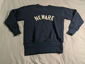 Newark Bears Men's Ebbetsfield Flannels Sweatshirt HD3 Navy Small NWT
