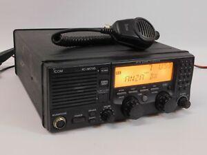 Icom IC-M710 Marine Radio Ham Transceiver w/ HM-180 Hand Mic (works great)