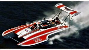 46in MISS US 1976 GOLD CUP CHAMPION UNLIMITED HYDROPLANE RC BOAT KIT USA MADE !