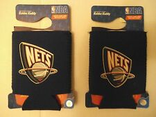 (2) Brooklyn Nets NBA BEER Can Kaddys KOOZIE HOLDER KOLDER