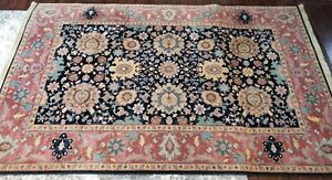 "Karastan Williamsburg Kurdish 559 USA 100% Premium Wool Pile Rug  5'8"" x 8'11"""