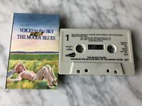 The Moody Blues Voices In The Sky The Best Of CASSETTE Tape 1985 Polygram RARE!