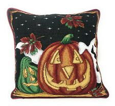 DaDa Bedding Halloween Jack o Lantern Pumpkins Throw Pillow Covers Tapestry 16�