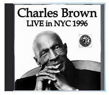 R&B legend CHARLES BROWN Live at Tramps NYC, 1996, on CD