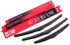 Toyota Auris Hatchback Trupart Front & Rear Wiper Blades Set 11/12 on (PE1516)