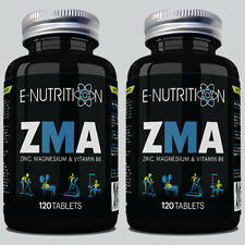 ZMA 240 TABLETS - ZINC MAGNESIUM & B6 - TESTOSTERONE BOOSTER - GROWTH & MUSCLE