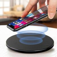 For iPhone 11 Pro Max XR X 8 Wireless QI Fast Charger Charging Slim Pad Dock