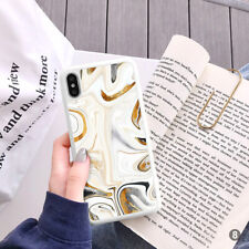 Marble Phone Case Cover For iPhone Samsung Huawei OnePlus ETC 106-8