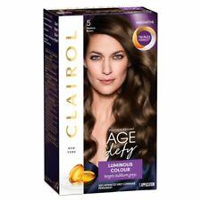 Clairol Age Defy Luminous Colour Hair Dye - 5 Medium Brown NEW