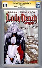 LADY DEATH - SACRILEGE #0 CGC-SS 9.8 SIGNED BY CREATOR BRIAN PULIDO AVATAR 2006