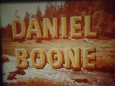 16mm  Daniel Boone Fess Parker