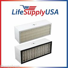Filter A1001B to fit Bionaire  LC1060 & LE1160 Air Cleaner Dual Filter