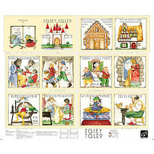 """FABRIC Panel QUILTING TREASURES ~ CLASSIC STORYBOOKS - FAIRY TALES ~ 36"""" x 44"""""""