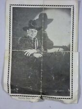 1939 Advertising Print Jerry the Yodeling Cowboy WHO Radio Des Moines IA