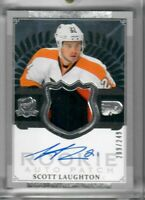 SCOTT LAUGHTON 2013-14 Upper Deck The Cup ROOKIE Patch Auto 209 0F 249