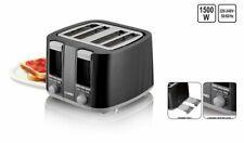 4-Scheiben-Toaster 1300-1500 W 7-Bräunungsstufen Zentrierfunktion Auftaufunktion
