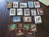 Rare Coca~Cola Collector Cards Vintage Coke Collectible 536-Card Set & 3 Pog Cap