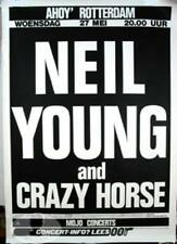 NEIL YOUNG 1987 ROTTERDAM CONCERT TOUR POSTER