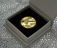 Brand New BREXIT 24ct Gold Commemorative in Presentation/Gift Box. UK Politics
