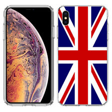 For Apple iPhone Xr England Uk British Flag Hard Cover Case Phone Protector