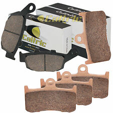 FRONT & REAR BRAKE PADS FITS TRIUMPH Street Triple R675 Radial caliper 2009-2012