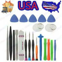 21 in1 Spudger Pry Opening Tool Screwdriver Set Repair Tools for Cell Phone USA