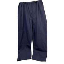 Coleman Adult Rain Suit Pants Only 20MM PVC w/Nylon Backing, Blue (Medium/Large