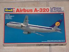 Maquette REVELL 1/144ème AIRBUS A-320 Lufthansa/ Air France/ British Airways