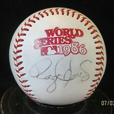 Roger Clemens Signed 1986 World Series Baseball JSA Authentic, Boston Red Sox