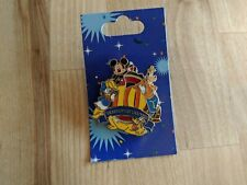 Disney Pin 10 Years of Pin Trading Mickey Donald Goofy