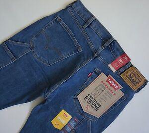 LEVI'S 505 REGULAR UTILITY WORKWEAR Jeans Men's, Authentic BRAND NEW (342330005)