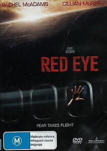 Red Eye (DVD, 2006) Horror / Thriller Movie - Rachel Adams - Region 4