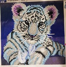 5 D Diamond Painting Tiger Komplettset