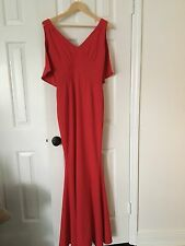 Zac Posen V-neck Cape Mermaid Gown Dress Sz 6 NWT Authentic