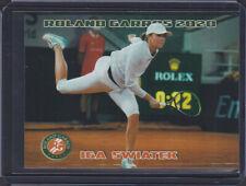 2020 * IGA SWIATEK * Rookie * RC ROLAND GARROS card 1/100 French Open Teenager*
