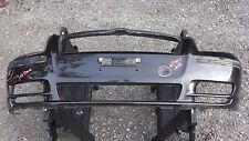 TOYOTA AVENSIS 2003-2006 FRONT BUMPER COVER in BLACK - GENUINE TOYOTA PART