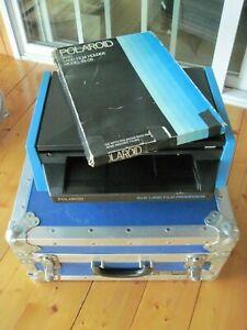 81-01 Polaroid 8x10 Film Processor with 81-05 Polaroid Film Holder in Anvil case