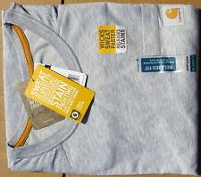 Carhartt Force Cotton Short-Sleeve T-Shirt Heather Gray Extra-Large